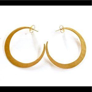RLM Studio Brass Hoop Earrings